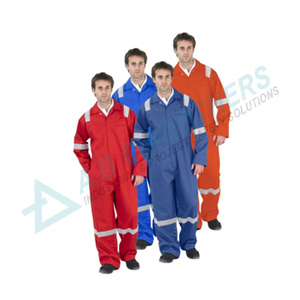 Engineering Boiler Suit with Reflective Tape